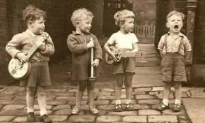 niños musicaaaa