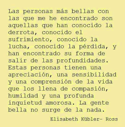 Elisabeth Kubler Ross Psicologos Zaragoza